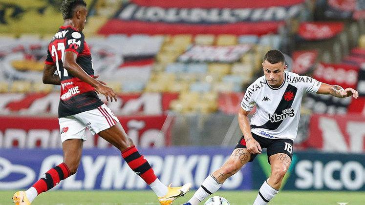 Flamengo 2 x 0 Flamengo - 4/2/2021 - O time mostrou brio, mas levou um gol em cada tempo.