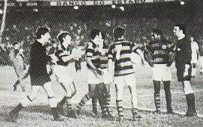 Flamengo 2 x 3 Fluminense, em 15 de junho de 1969, jogo de rodada dupla, válido pelo Campeonato Carioca - público de 171.599