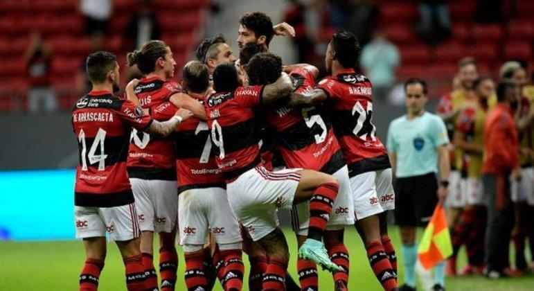 Flamengo mostrou muita personalidade, vibração e prazer em jogar. Mudou com Renato Gaúcho
