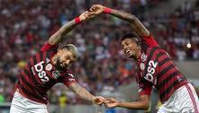 Flamengo empolgante, vibrante. 2 a 0 contra o Barcelona. A um passo da final da Libertadores