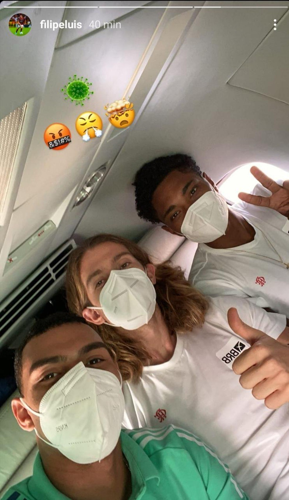 Jogadores do Flamengo infectados. Quarentena de duas semanas