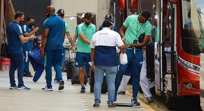 Flamengo teve vários jogadores e funcionários infectados pelo coronavírus