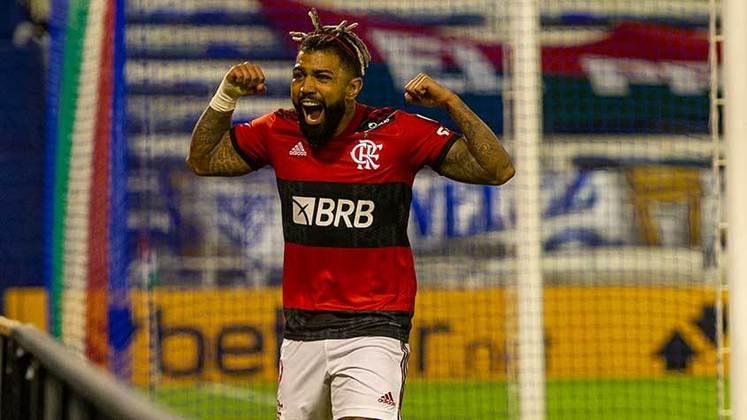 Flamengo: 28 gols na temporada (Campeonato Carioca, Libertadores e Supercopa do Brasil)