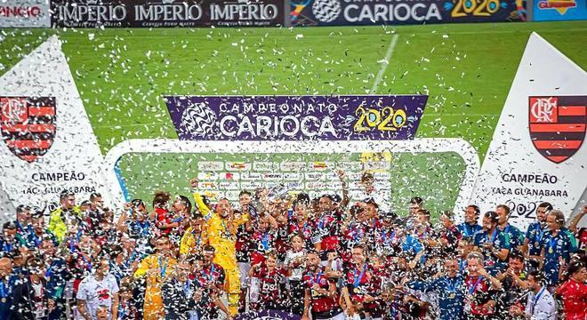 Flamengo campeão Taça Guanabara. Todos os jogos na 'sua casa'. O Maracanã