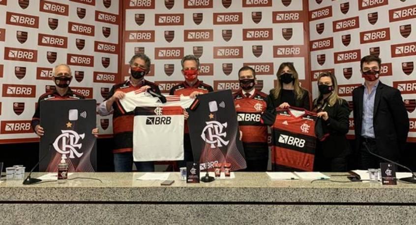 Flamengo fecha com,patrocinador master estatal. Em plena pandemia e recessão
