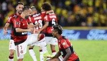 Bruno Henrique garantiu a final da Libertadores mais desejada. Palmeiras e Flamengo