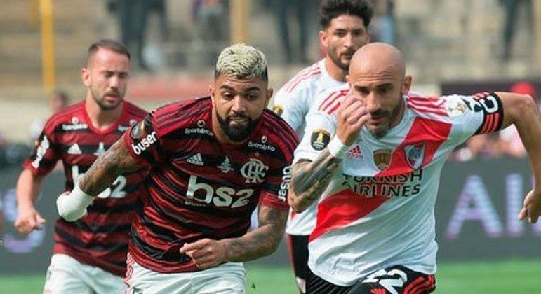Flamengo 2x1 River - final de 2019