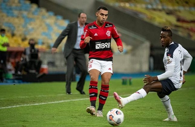 Flamengo 2x2 LDU (EQU) - 5ª rodada da fase de grupos da Libertadores, no Maracanã: Pedro e Gustavo Henrique balançaram as redes no empate no Rio de Janeiro