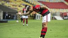 O Flamengo mostra ao Palmeiras quem manda no Brasil