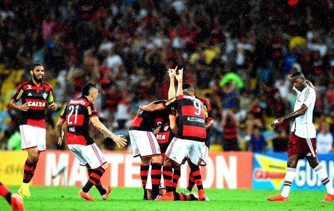 Flamengo 3x0 Fluminense - 5/4/2015 - Gols de Jonas, Alecsandro e Matheus Sávio