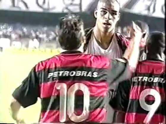 Flamengo 4x0 Vasco - 27/10/2000 - Gols de Petkovic (2), Adriano e Edilson