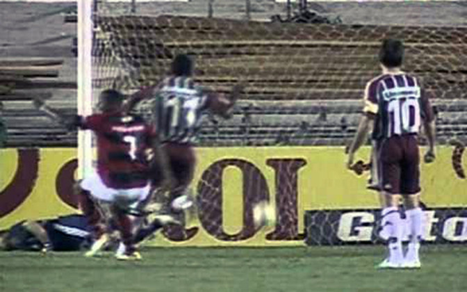 Flamengo 4x1 Fluminense - 4/10/2006 - Gols de Renato Abreu (2) e Obina (2)