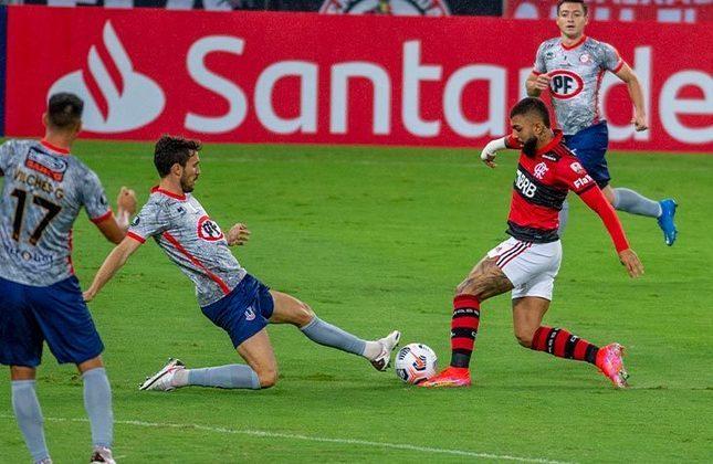 Flamengo 4x1 Unión La Calera (CHI) - 2ª rodada da fase de grupos da Libertadores, no Maracanã - Gabigol fez dois, e Arrascaeta e Pedro completaram o placar