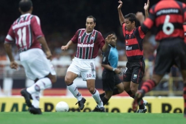 Flamengo 5x2 Fluminense - 4/9/2002 - Gols de Athirson, Liédson, Zé Carlos, Iranildo e Fabio Baiano