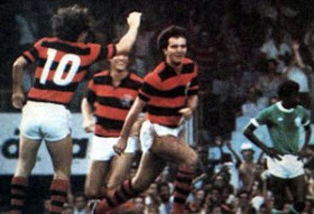 Flamengo 6x2 Palmeiras - 13/4/1980 - Gols de Zico (2), Tita (2), Toninho Baiano e Nunes