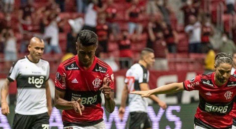Flamengo 9 x 2 Olímpia (Agregado) - quartas de final 2021