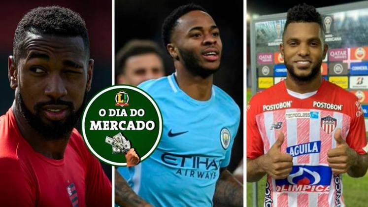 Flamengo acerta venda de Gerson para clube europeu, Barcelona especula estrela do Manchester City e negócio pode evoluir nos próximos dias. Palmeiras deseja vender Borja para clube sul-americano. Tudo isso e muito mais no Dia do Mercado de quarta-feira.