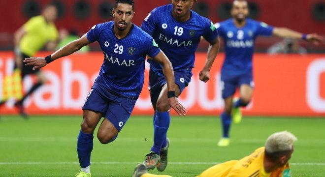 O Al-Hilal teve a vitória à disposição no primeiro tempo. 1 a 0 foi pouco
