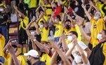 Assim como no jogo de ida, no Maracanã, a partida desta quarta-feira, no Monumental do Barcelona, em Guayaquil, também recebe público, que ainda é restrito por causa das medidas de combate ao coronavírus