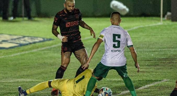 Gabigol estreia na temporada em confronto com o Boavista, no Cariocão