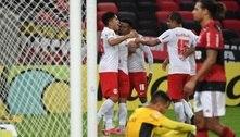 No último lance, Bragantino vence Flamengo por 3 a 2 no Maracanã