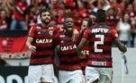 O Flamengo venceu o Ceará pela 3ª rodada do Brasileirão
