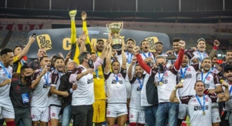 Flamengo Campeão Carioca 2021