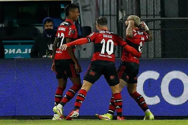 Flamengo: cenário 1 (sem transferências de atletas) - Receitas: R$ 393 milhões - Folha salarial: R$ 330 milhões - Receitas x Folha (em %): 84% - Conclusão: acima do fair play financeiro.