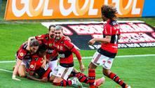 Flamengo joga fácil em Itaquera e vence o Corinthians por 3 a 1