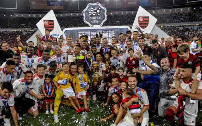 Flamengo, do Rio de Janeiro - 35 títulos
