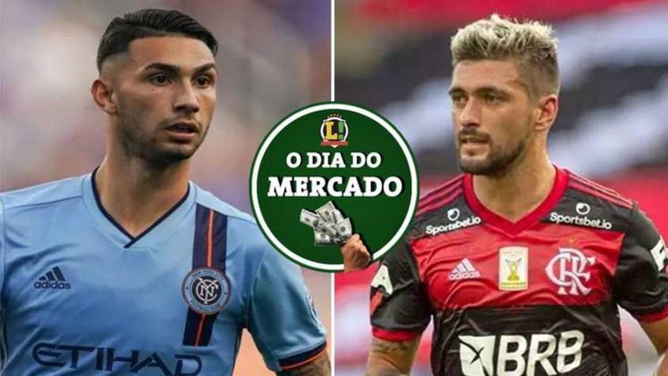Flamengo e Arrascaeta se desentenderam por conta de um detalhe no contrato e o futuro do uruguaio está indefinido. Palmeiras volta a buscar atacante no mercado e segue na busca por um bom nome. Tudo isso e muito mais no Dia do Mercado de sexta-feira.