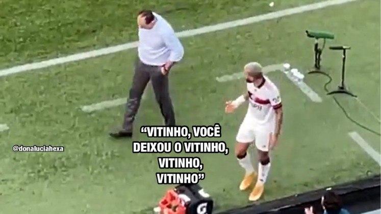 Flamengo e Rogério Ceni são alvo de memes após derrota para o Athletico Paranaense
