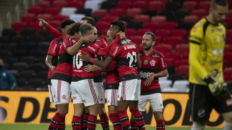 Flamengo - eliminou o ABC nas oitavas de final