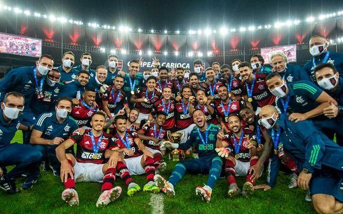 Na última final de Carioca entre as equipes, mais um título do Flamengo. Na despedida de Jorge Jesus, o Rubro-Negro venceu por 3 a 1 no agregado e conquistou o 36º Estadual