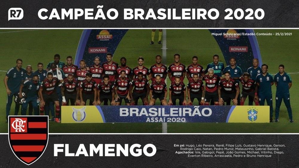 Confira os campeões do Brasileirão pelo Flamengo
