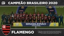 Baixe aqui o pôster do Flamengo, campeão do Brasileirão 2020