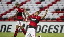 Arão é expulso, Fla empata com a LDU e se classifica na Libertadores