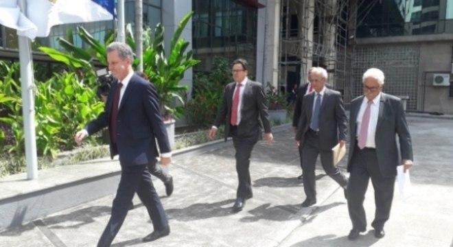 Cúpula do Flamengo no Ministério Público