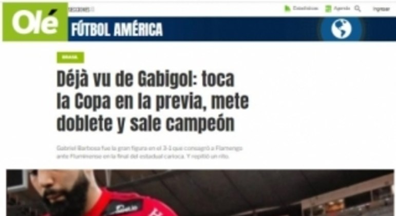 Flamengo  - Olé