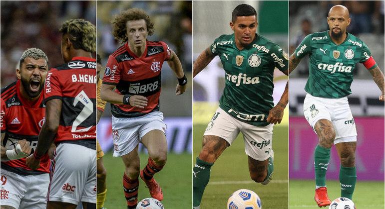 Final entre Flamengo e Palmeiras reúne 26 jogadores que já atuaram na Europa