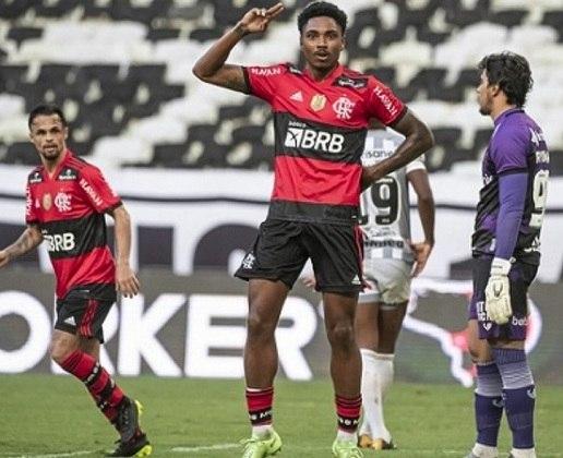 Flamengo - Patrocinador máster: Banco de Brasília (BRB) - Valor pago pela patrocinadora ao clube: R$ 35 milhões anuais