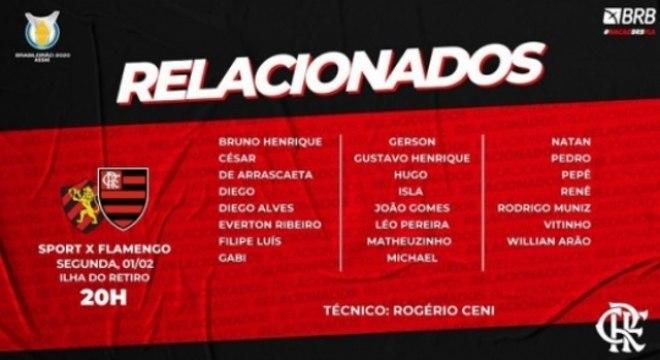 Flamengo - Relacionados