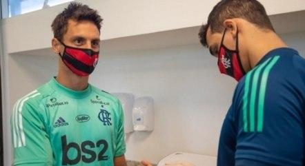 Rodrigo Caio foi infectado pela Covid-19