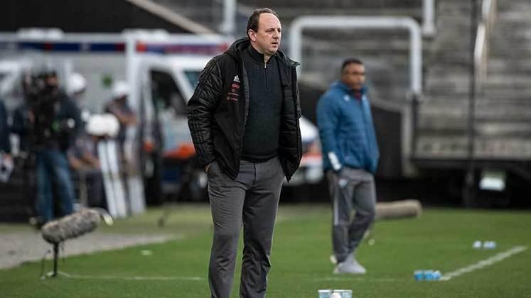 Flamengo: Sobe - Dominou o primeiro tempo e conseguiu anular o Fluminense na etapa inicial. / Desce: Desperdiçou finalizações, perdeu chances claras de gol e não conseguiu marcar mesmo jogando melhor em boa parte do jogo.
