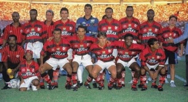 Zé Maria, Marques, Amoroso e dupla Romário e Bebeto: Flamengo de 96