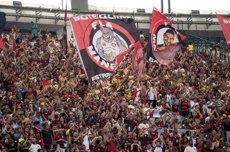Contra Chape, 57.494 flamenguistas foram ao Maraca