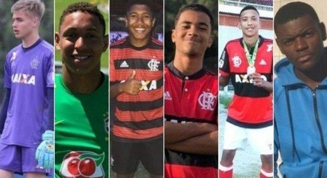 Vítimas do incêndio que ocorreu no centro de treinamento do Flamengo, no RJ