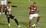 Flamengo e Volta Redonda pela partida de ida das semifinais do Campeonato Carioca 2021