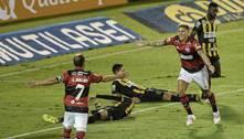 Pedro decide, Fla vence o Voltaço e sai na frente nas semis do Carioca