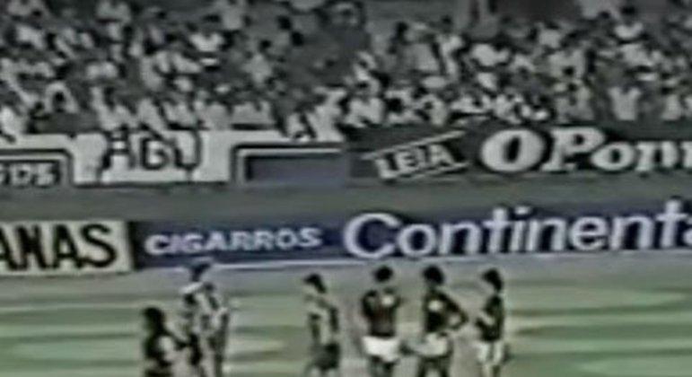 Flamengo x Atlético-MG - desempate da fase de grupos de 1981